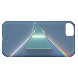 Optic Prism Refracting and Reflecting Light iPhone 5C Cover