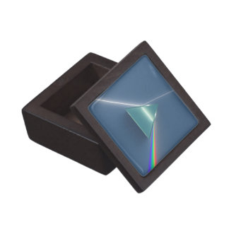 Optic Prism Refracting and Reflecting Light Jewelry Box