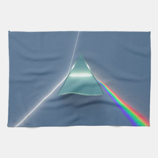 Optic Prism Refracting and Reflecting Light Hand Towel
