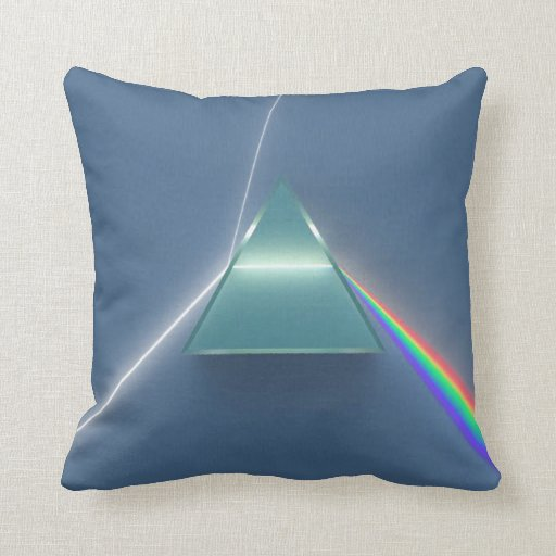 Optic Prism Refracting and Reflecting Light Pillows