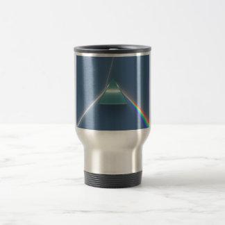 Optic Prism Refracting and Reflecting Light Travel Mug