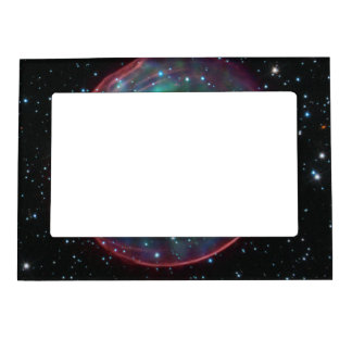 Optical and X-ray Composite Image of SNR 0509-67.5 Picture Frame Magnets