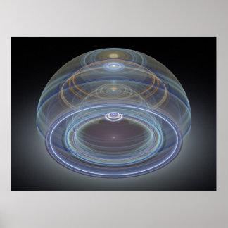 Optical Art 3D Grand Julian Fractal 09 Print