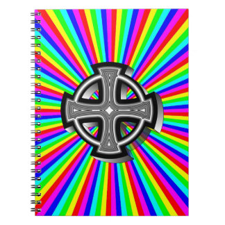 Optical Celtic Cross Notebook
