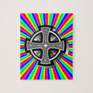 Optical Celtic Cross Puzzle
