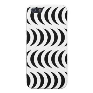 Optical Crescent BW Reverse Covers For iPhone 5