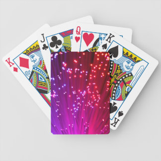 Optical Fibers Bicycle Playing Cards