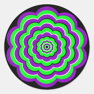 Optical Fun Classic Round Sticker