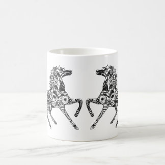 Optical Horse Coffee Mugs