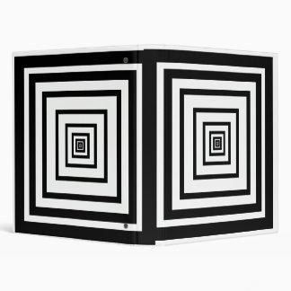 Optical illusion #1 binder