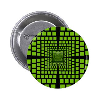 Optical illusion 2 inch round button