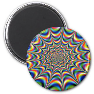 OPTICAL ILLUSION 2 INCH ROUND MAGNET