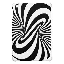Optical Illusion 3D Spiral Cover For The iPad Mini