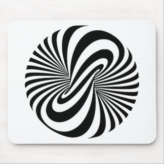 Optical Illusion 3D Spiral Mouse Pad
