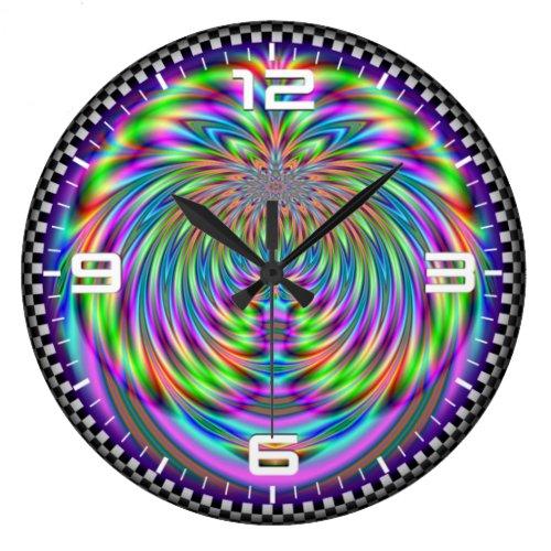 Optical illusion #514 large clock