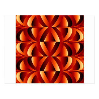 Optical illusion abstract background postcard