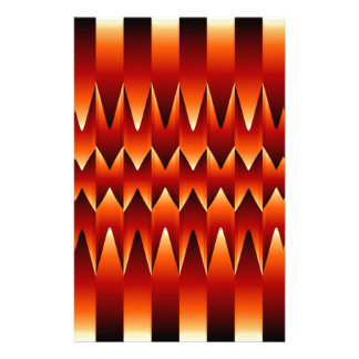 Optical illusion abstract background stationery