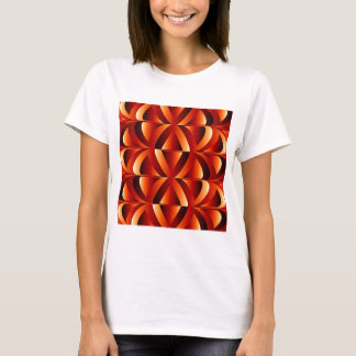 Optical illusion abstract background T-Shirt