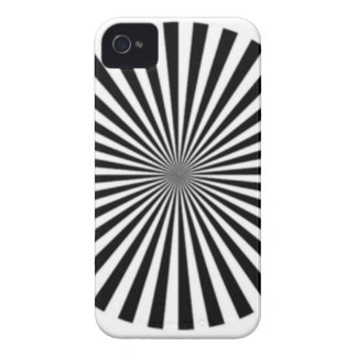 Optical Illusion Allows One To See Ones Brainwaves iPhone 4 Case-Mate Case