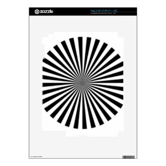 Optical Illusion Allows One To See Ones Brainwaves Decals For iPad 2