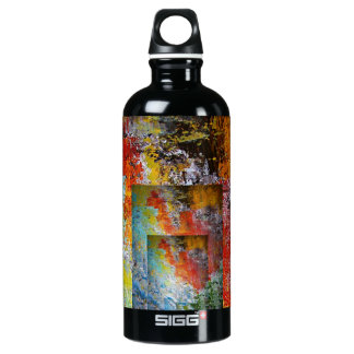 Optical Illusion Aluminum Water Bottle