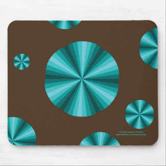 Optical Illusion Aqua Mousepad
