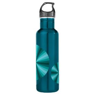 Optical Illusion Aqua Water Bottle