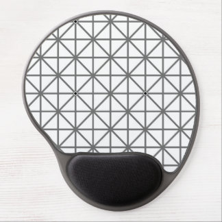 optical illusion background pattern texture geomet gel mouse pad