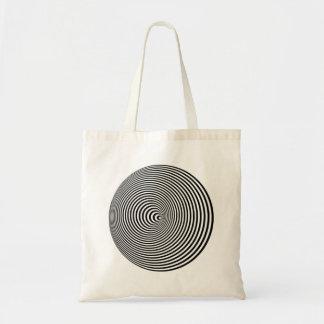 Optical Illusion Tote Bags