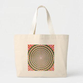 Optical Illusion Canvas Bags