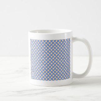 optical illusion - bendy pattern classic white coffee mug
