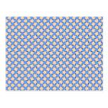 optical illusion - bendy pattern wenskaarten