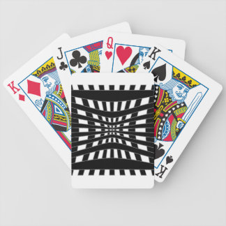 Optical illusion bicycle playing cards