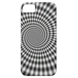 Optical Illusion Black and White Swirl iPhone 5 Cover
