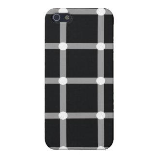 Optical Illusion Black Dots  iPhone SE/5/5s Case