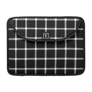Optical Illusion - Black Dots MacBook Pro Sleeve