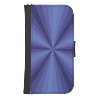 Optical Illusion Blue Smartphone Wallet Case Phone Wallets