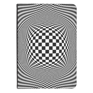 Optical Illusion Checkers Kindle Touch Case