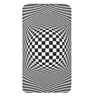 Optical Illusion Checkers S5 Smartphone Pouch Galaxy S5 Pouch