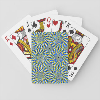 Optical Illusion Circles Novelty Playing Cards