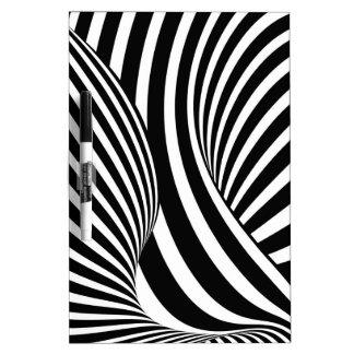 Optical Illusion Dry-Erase Board