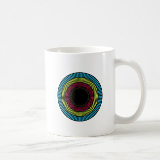 Optical illusion for hypnotherapy coffee mug