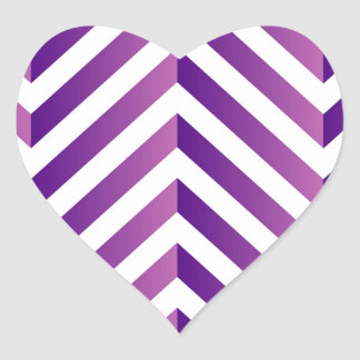 Optical illusion for hypnotherapy heart sticker