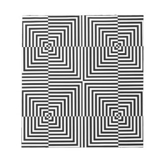 Optical illusion for hypnotherapy note pad