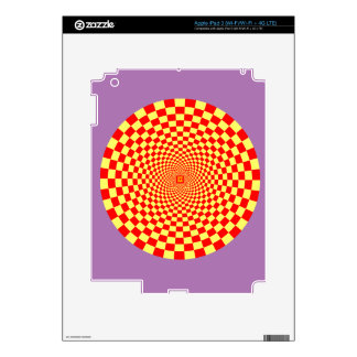 Optical Illusion, Fractal and Geometric Decals For iPad 3