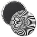 Optical Illusion Fridge Magnets