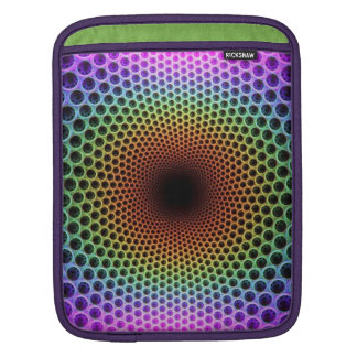 Optical Illusion Geometric Design Sleeve For iPads