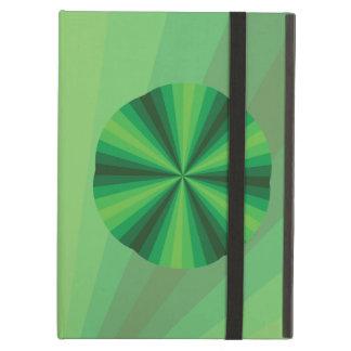 Optical Illusion Green iPad Powis Case