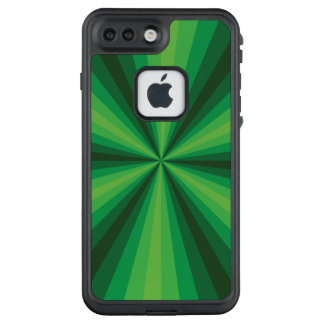 Optical Illusion Green Lifeproof Case