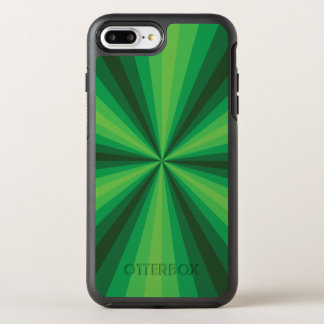 Optical Illusion Green Otterbox Phone Case